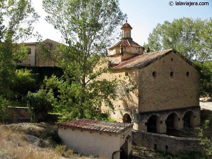 Ermita de Abajo, Santuario de la Virgen de la Fuente en Peñarroya de Tastavins