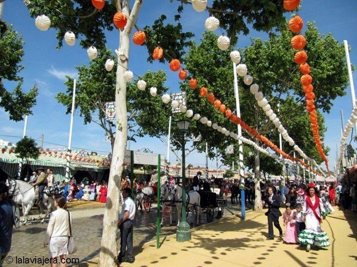 El Real de la Feria de Abril de Sevilla