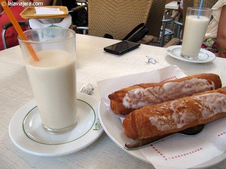 Horchata con fartons, Valencia