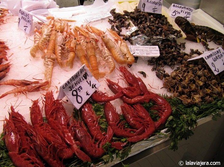 De compras en el Mercado Central de Valencia