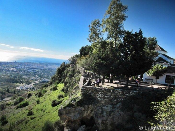 Mirador de los Jardines de la muralla de Mijas
