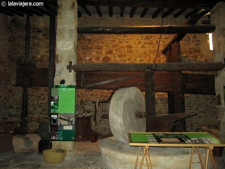 Museo del aceite del Molí de L'Hereu, en Ráfales