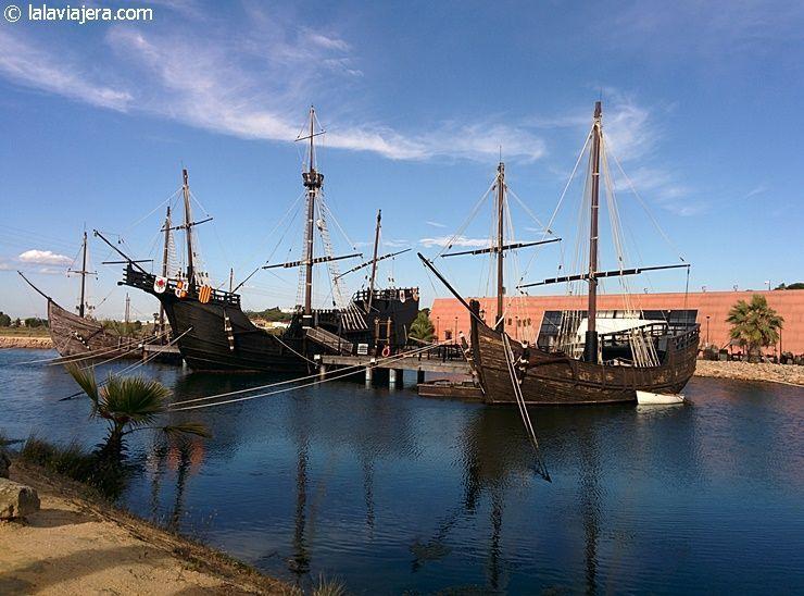 Lugares Colombinos: Muelle de las Carabelas