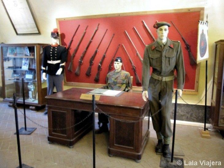 Museo de Armas de la Ciudadela de Dinant
