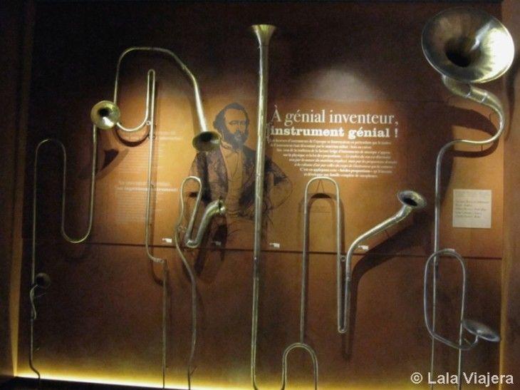 Museo del saxofón en la Maison Sax