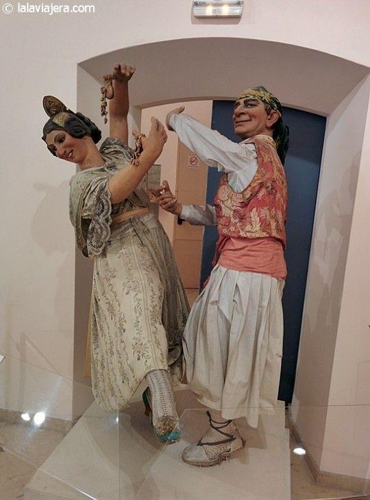 Ninot en el Museo Fallero de Valencia