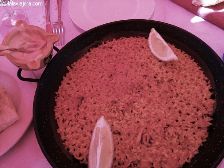 Auténtica paella valenciana en El Saler