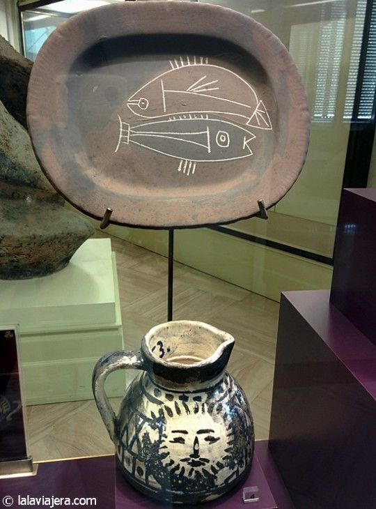 Diseños de Picasso en el Museo Nacional de Cerámica de Valencia