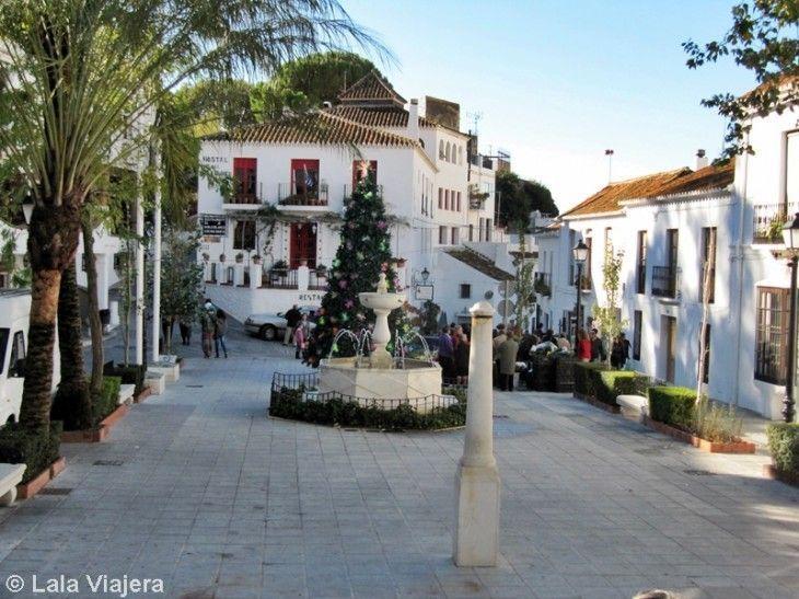 Plaza de la Constitución de Mijas Pueblo