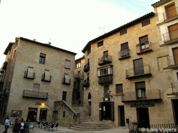 Plaza España de Valderrobres