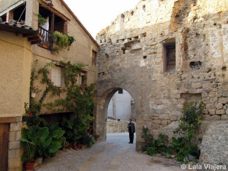 Portal de Vergós, Valderrobres