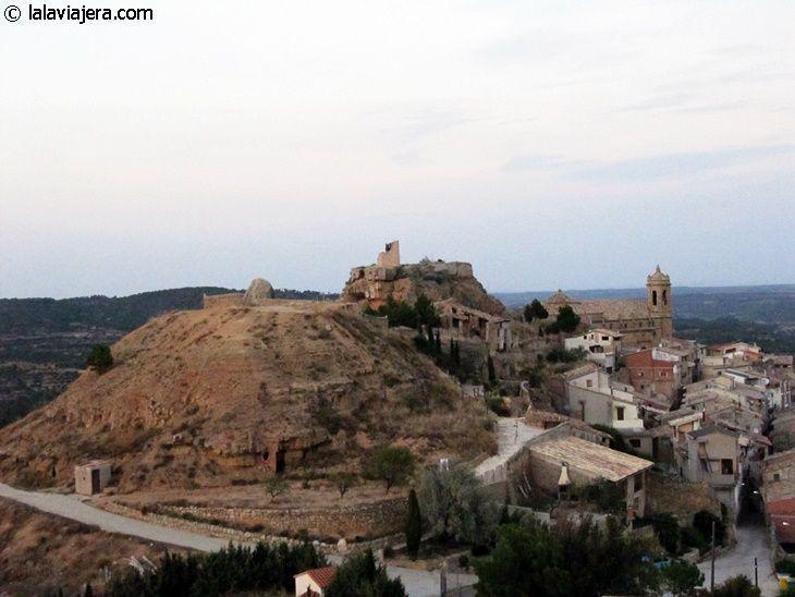 La Fresneda desde la desde la Ermita de Santa Bárbara