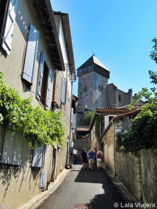 Pueblo medieval de Saint Bertrand de Comminges, Camino de Santiago