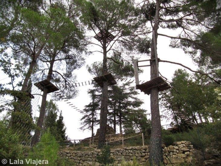 Parque de aventura Saltapins, Morella