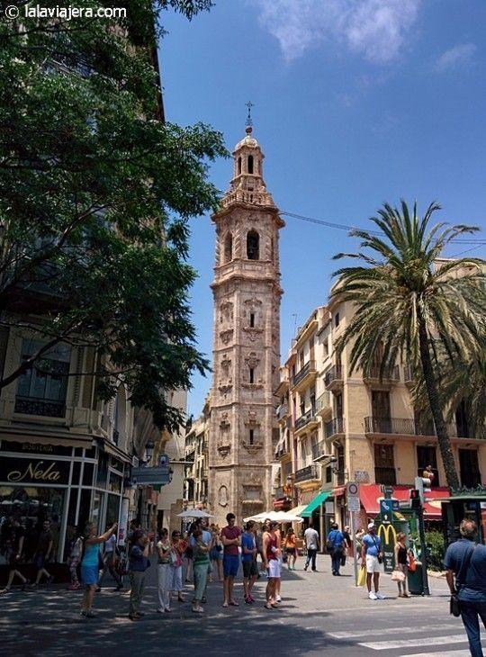 Torre de Santa Catalina, centro hstórico de Valencia