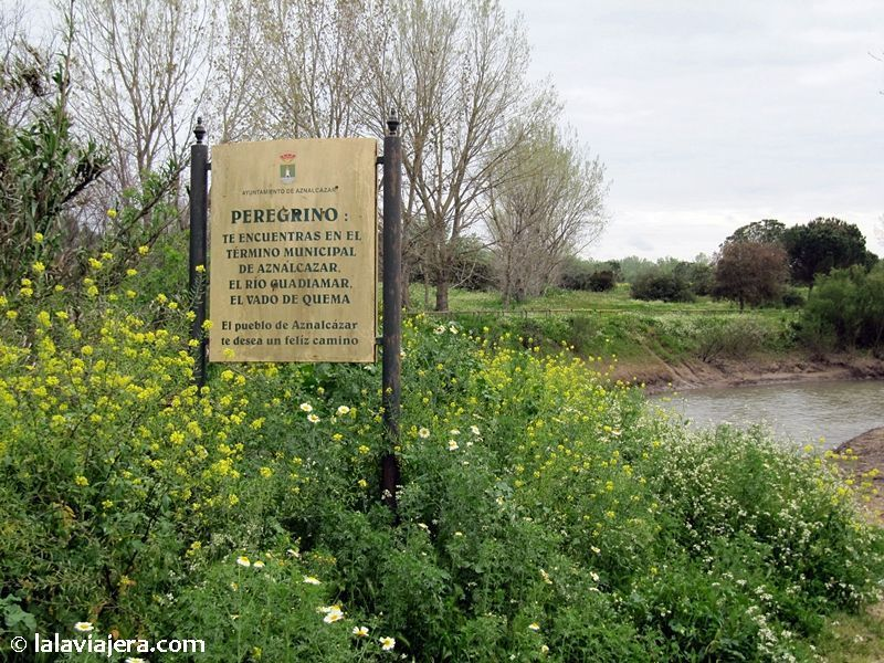 El Vado del Quema, lugar emblemático del Camino del Rocío