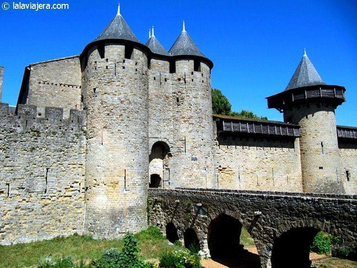 Acceso al Castillo de Carcassonne