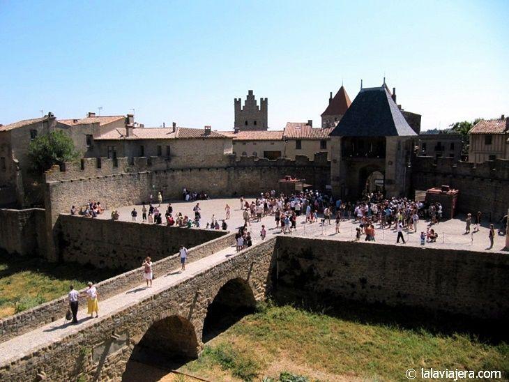El Castillo de Carcasona, una fortaleza dentro de la ciudadela medieval