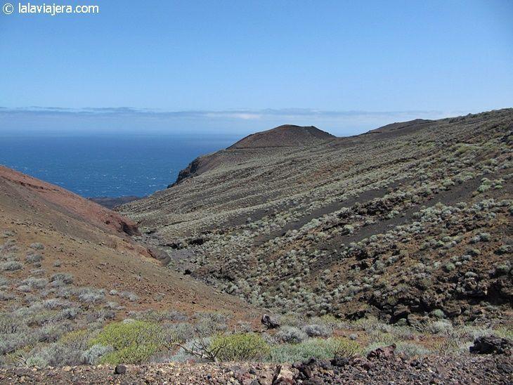 Paisaje volcánico de El Hierro
