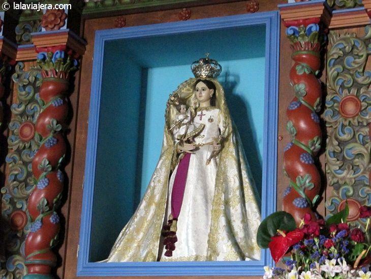Virgen de los Reyes, patrona de la isla de El Hierro