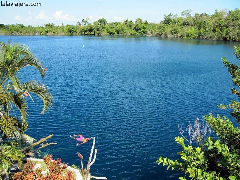 Cenote Azul, en Bacalar