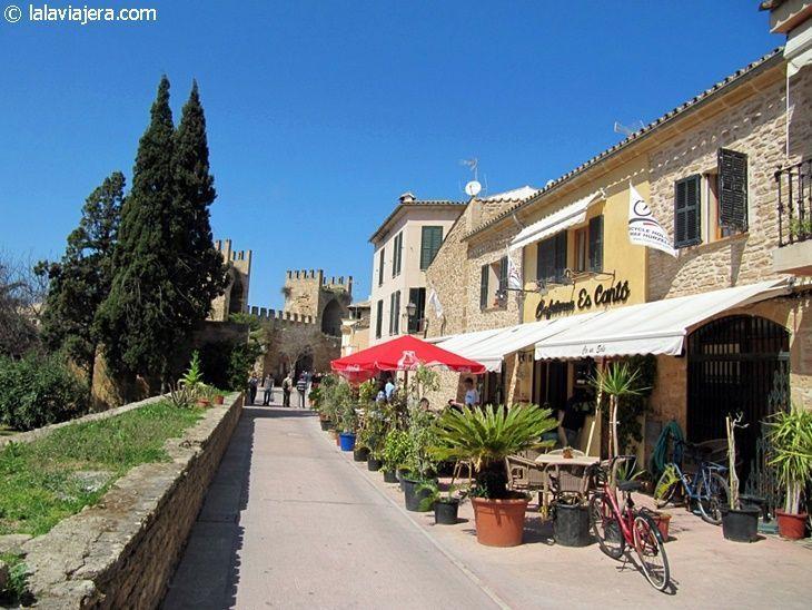 Calles del centro histórico de Alcudia