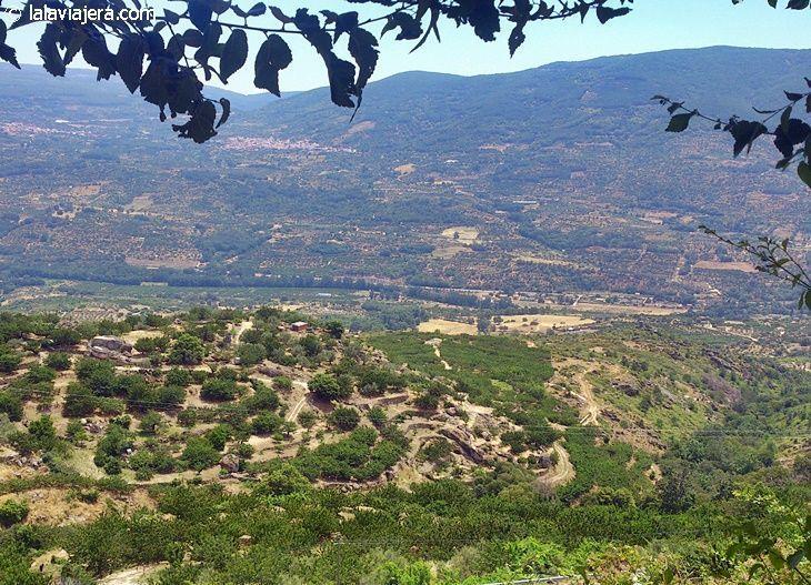 Panorámica del Valle del Jerte