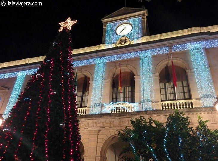 Ayuntamiento de Sevilla en Navidad