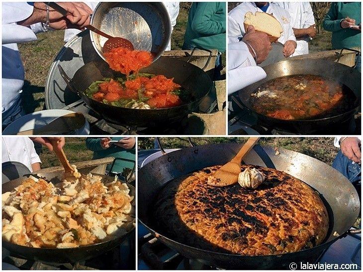 Zopa de tomate típica de Villamartín