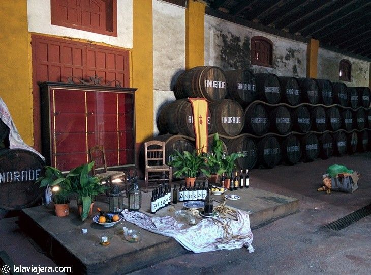 Ruta del Vino del Condado de Huelva: Bodegas Andrade