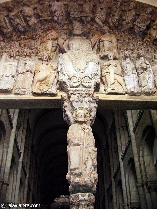 Pórtico de la Gloria en la Catedral de Santiago de Compostela