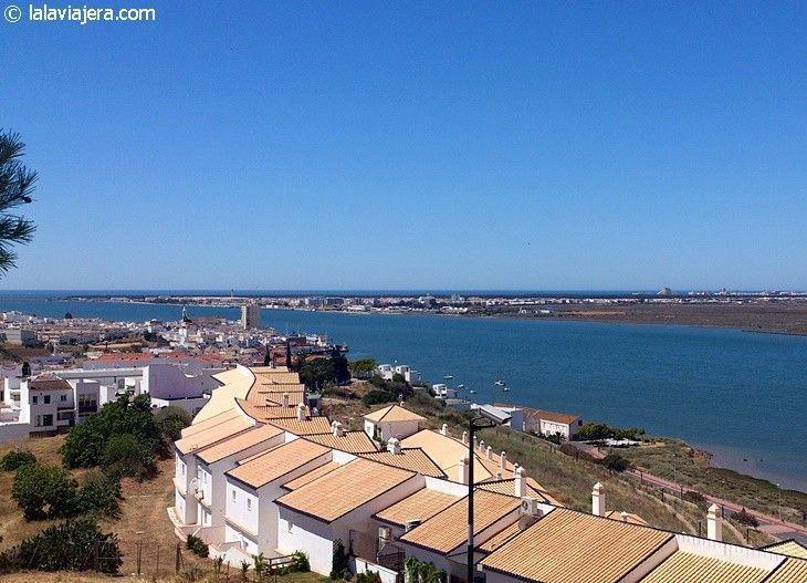 Desembocadura del Guadiana, en Ayamonte, Huelva
