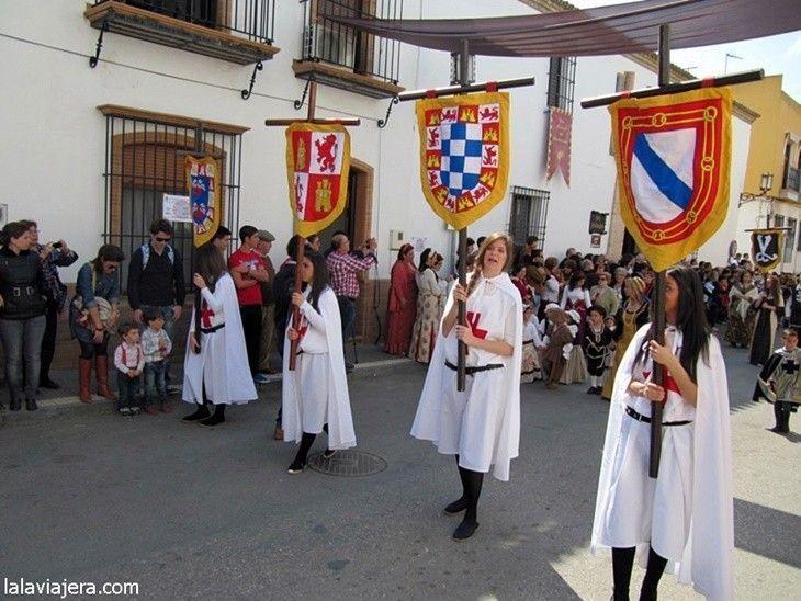 Desfile de la Feria Medieval del Descubrimiento, Palos de la Frontera, Huelva