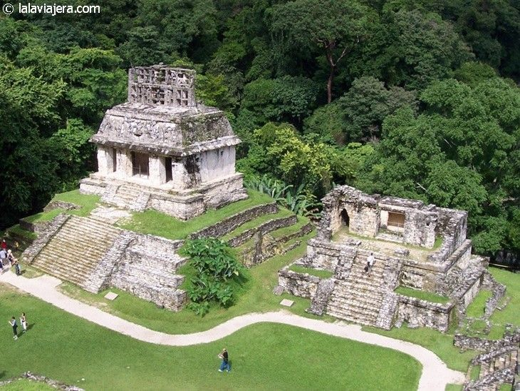 Grupo de las Cruces, Palenque