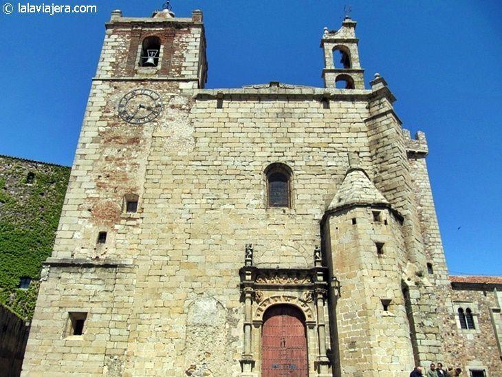 Convento de San Pablo en la Plaza de San Mateo de Cáceres