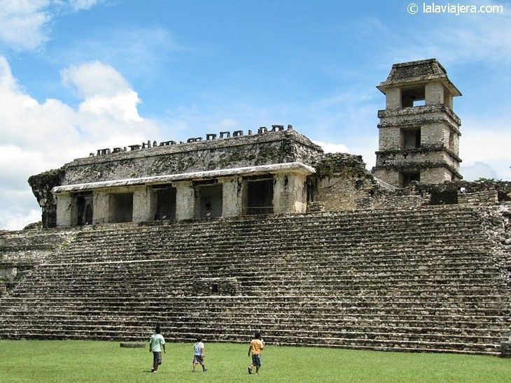Gran Palacio de Palenque