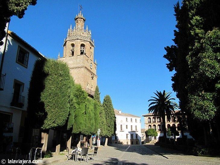 Plaza de la Duquesa de Parcent, centro neurálgico de Ronda