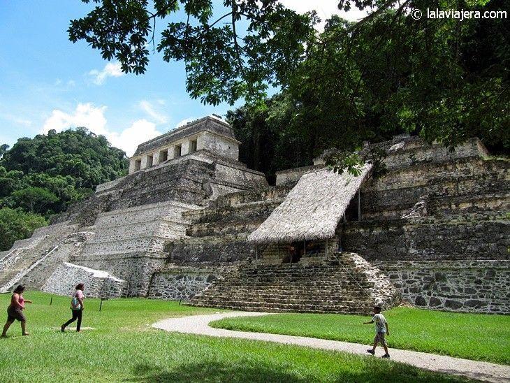 Templo de las Inscripciones en Palenque, la tumba de Pakal