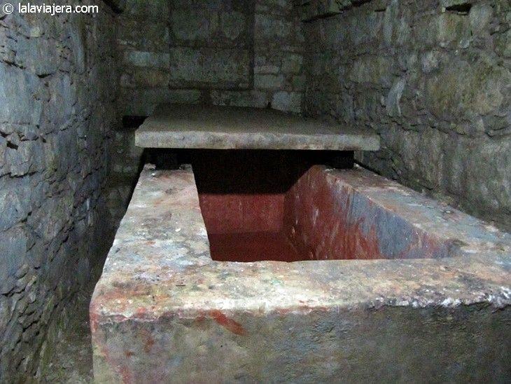 Tumba de la Reina Roja en Palenque