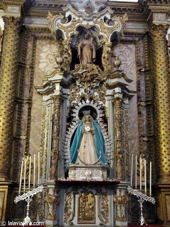 Virgen del Mayor Dolor, en la Colegiata de Santa María, Ronda