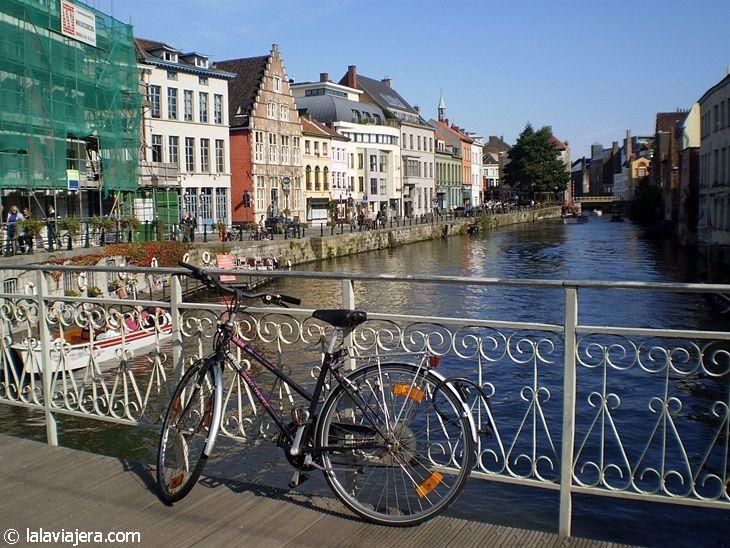 Las bicicletas son un medio de transporte muy popular en Bélgica