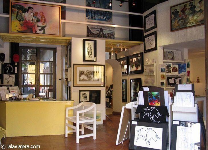 Galerías de arte en San Miguel de Allende