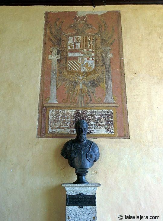 Busto de Carlos V en el Santuario de Yuste