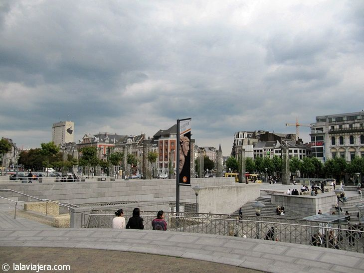 Plaza Saint Lambert, Lieja