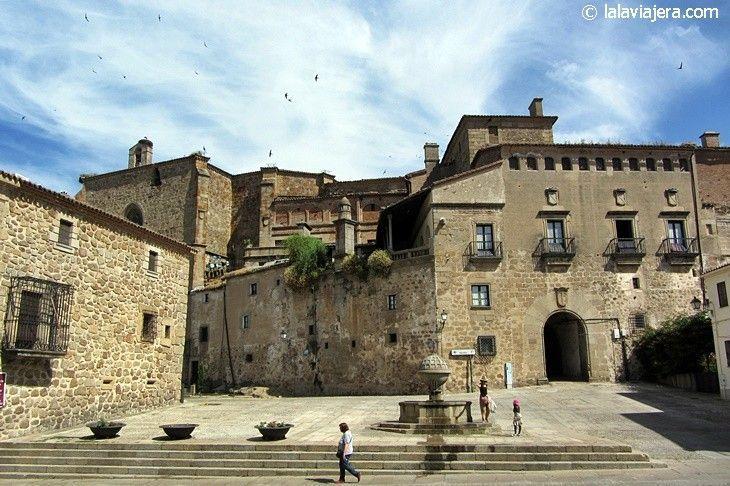 Palacio de los Marqueses de Mirabel en la Plaza San Nicolás de Plasencia