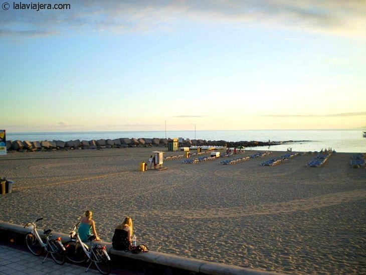 Las mejores playas de Tenerife: Las Vistas (Arona)