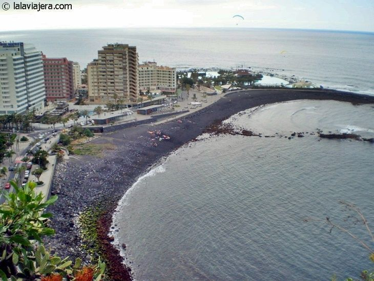 Las 10 mejores playas de tenerife lala viajera - Playa puerto de la cruz tenerife ...