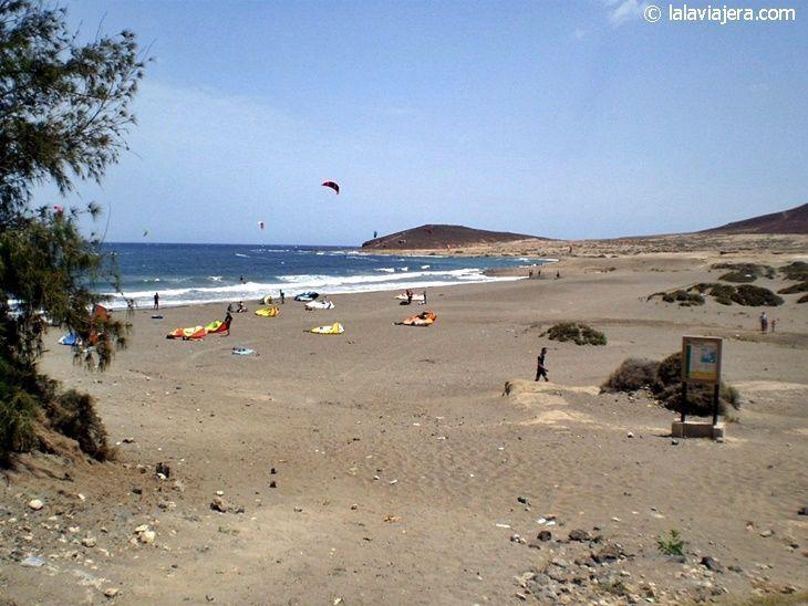 Playa Leocadio Machado (El Médano, Tenerife)
