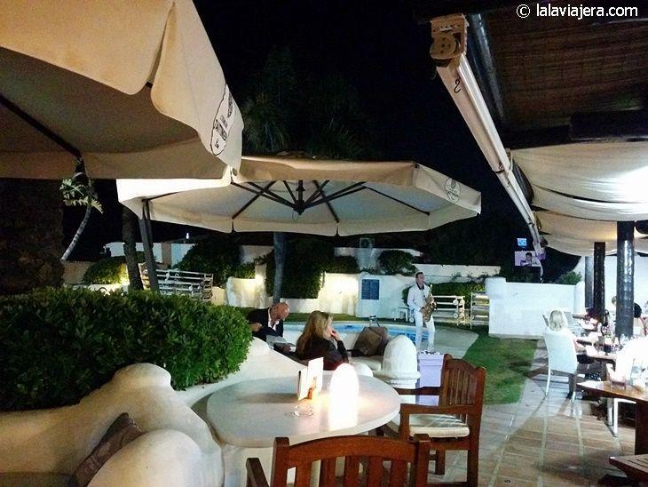 Música en vivo en el Beach Club del hotel Iberostar Marbella Coral Beach
