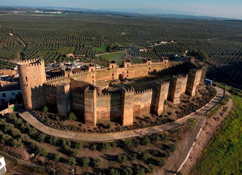 Castillo andalusí de Baños de la Encina, Jaén